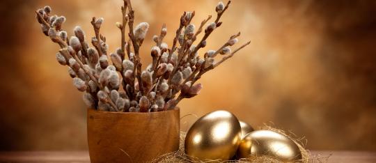 (Slovenčina) Krásne a pokojné prežitie Veľkonočných sviatkov Vám praje tím hotela KULTÚRA***+.